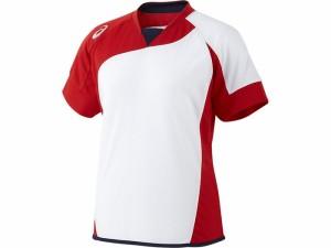 17SS アシックスベースボール(asics/野球) WSソフトボールシャツ(半袖)(レディース) BAD300-0123