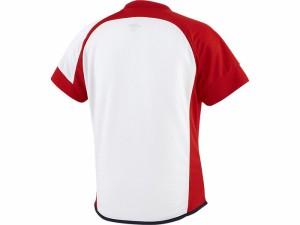 アシックスベースボール(asics/野球) WSソフトボールシャツ(半袖)(レディース) BAD300-0123
