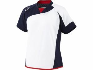 アシックスベースボール(asics/野球) WSソフトボールシャツ(半袖)(レディース) BAD300-0150