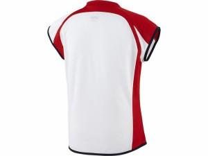 アシックスベースボール(asics/野球) WSソフトボールシャツ(フレンチスリーブ)(レディース) BAD301-0123