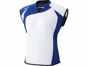 17SS アシックスベースボール(asics/野球) WSソフトボールシャツ(フレンチスリーブ)(レディース) BAD301-0143