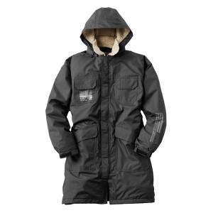 訳あり1点限り!LOGOS ロゴス 防水防寒コート コマゲン Lサイズ ブラック(防水防寒)(3)