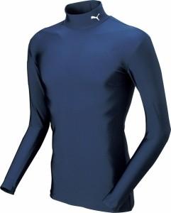 PUMA(プーマ)COMPRESSIONジュニアモックネックLSシャツ(ジュニアサイズ) PAJ-920481-02