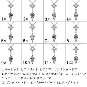 【送料無料】選べる誕生石・ペンダント・メンズ・ネックレス・10金