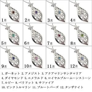 【送料無料】選べる誕生石・メンズ・ネックレス・18金・ペンダント