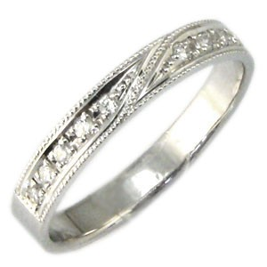 【送料無料】結婚指輪・プラチナ・ダイヤモンド・リング・マリッジリング