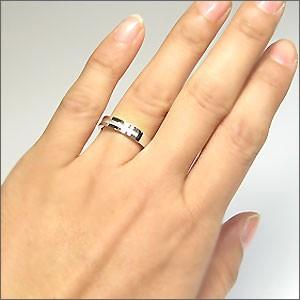 【送料無料】ペアリング・クロスリング・ロイヤルブルームーンストーン・リング・k18・指輪