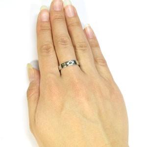 シルバーリング・クロスリング・ペリドット・リング・結婚指輪