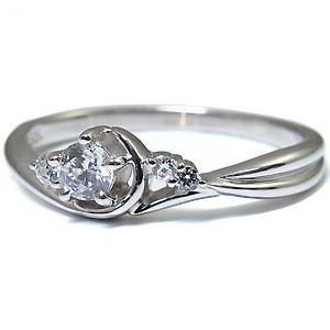 【送料無料】プラチナ・ダイヤモンド・リング・一粒・ダイアモンドリング・指輪