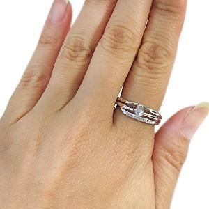 【送料無料】ロイヤルブルームーンストーン リング 18金 一粒 アクアマリンサンタマリア 指輪