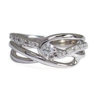 【送料無料】ダイヤモンド・リング・4月誕生石・一粒・10金・指輪