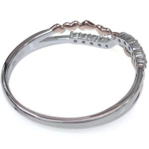 【送料無料】結婚10周年・ダイヤモンド・リング・ハート・指輪