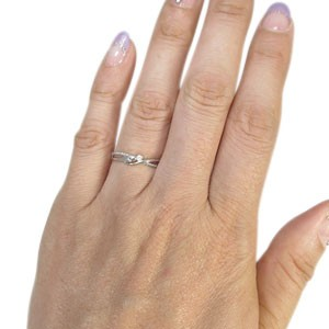 【送料無料】へび・蛇・指輪・10金・リング・ダイヤモンド・リング