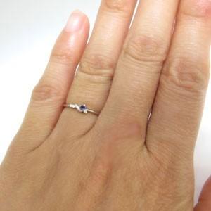 【送料無料】ピンキーリング・アメジスト・シンプル・リング・10金・指輪
