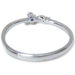 【送料無料】サファイア ピンキーリング ファランジリング 18金 指輪 天然石 リング