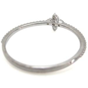 【送料無料】プラチナ ファランジリング クロス リング 誕生石 指輪
