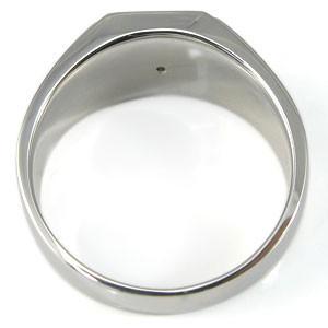 【送料無料】ロイヤルブルームーンストーン・メンズリング・地金・印台リング・k10・指輪