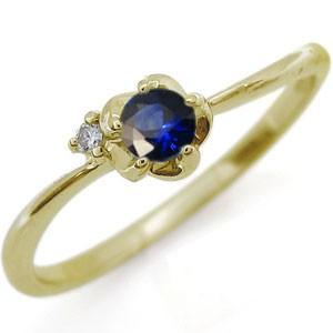 【送料無料】指輪・花・フラワー・リング・一粒・誕生石・リング
