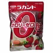 【ラカント カロリーゼロ飴 いちごミルク味 48g】※キャンセル・変更・返品交換不可