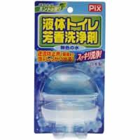【液体トイレ芳香洗浄剤 本体 ほのかなミントの香り 80g】※受け取り日指定不可