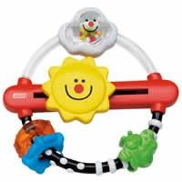 【フィッシャープライス おひさま指遊びリング[フィッシャープライス 乳児用おもちゃ]】※税抜5000円以上送料無料