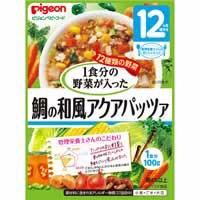 【ピジョン 管理栄養士さんのおいしいレシピ 1食分の野菜が入った鯛の和風アクアパッツァ 100g】