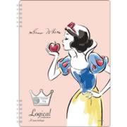 【スイング・ロジカルWリングノート B5・A罫 ディズニープリンセス 白雪姫 オレンジ NW-B508-OR】※税抜5000円以上送料無料