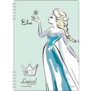 【スイング・ロジカルWリングノート B5・A罫 アナと雪の女王 エルサ グリーン NW-B508-G】