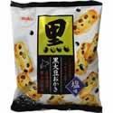 【「期間限定」「ケース販売」Befco 黒大豆おかき 塩味 84g×12袋】