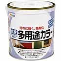 【アサヒペン 水性多用途カラー ツヤケシシロ 0.7L】