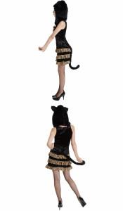 ハロウィン コスプレ モンスターキャット キャット 猫 モンスター Halloween