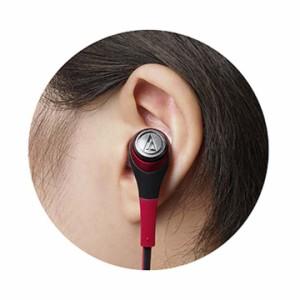 インナーイヤーヘッドホン ATH-CKS550イヤホン インナーイヤー型 耳栓型 ヘッドホン ダイナミック型 音楽 重低音 オーディオテクニカ BGD