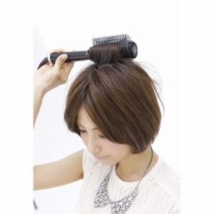 【B】アフロート クレイツイオン ホットブローブラシ ベリー CIHB-R01ヘアアイロン ブラシアイロン 巻き髪 ボリュームアップ ブラシアイ