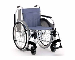 スチール自走式車椅子 スイングアウトタイプ CM-250 松永製作所 車いす