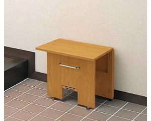たためるベンチ EWA220R TOTO 【介護用品】【玄関 イス 椅子】折りたたみ式ベンチ