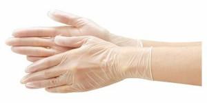 リフレ プラスチック手袋 粉なし/92115 S 1箱100枚入 20個入り リブドゥコーポレーション 【介護用品】