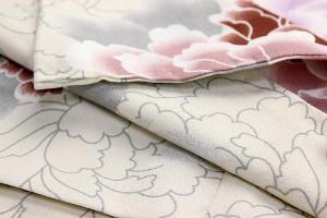【洗える着物】単衣 ポリエステル 仕立て上がり 検針済み かわいい 花柄 おしゃれ 和装 プレゼント デザイン 洗え