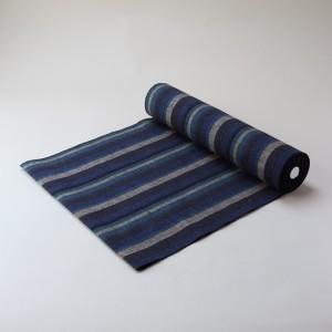 縞紬 S-11 -大海(たいかい)- 木綿反物