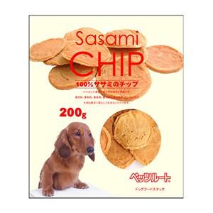 ペッツルート 無添加 ササミのチップ 200g (犬用おやつ)