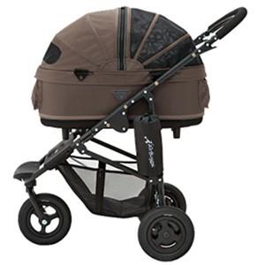 エアバギー フォードッグ ドーム2 ブレーキモデル Mサイズ ブラウン ペット用バギー Air Buggy(犬用)【返品・交換不可】