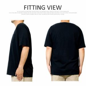 Tシャツ メンズ 大きいサイズ 半袖 ひんやり 接触冷感 汗染み防止 ポケット 消臭 抗菌 多機能 無地 Vネック