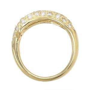 ダイヤ 1.20ct K18 リング 11号 18金イエローゴールド ダイア 指輪 レディーズ 【中古】NJ