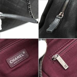 シャネル CHANEL マトラッセ チェーンショルダー バッグ レザー ブラック レディース【中古】 【中古】ブランド