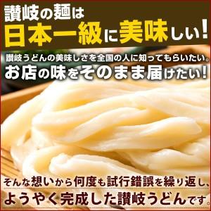 讃岐うどん ご当地うどん 麺が本気で旨い讃岐うどん セット 徳用8人前  送料無料 ( 特産品 名物商品 )