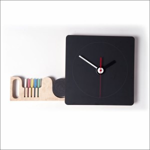 Tabla Blackboard clock タブラ ブラックボード クロック S