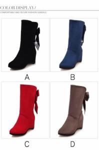レディースシューズ 靴 ブーツ スノーブーツ ムートンブーツ ファッション 韓国風 カジュアル 半長靴 フラットソール 冬