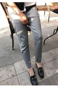ハーレムパンツ 韓国ファッション レディース大根パン レディース デザイン パンツ 美脚スッキリ オリジナル 九分パンツ ハーレムパンツ