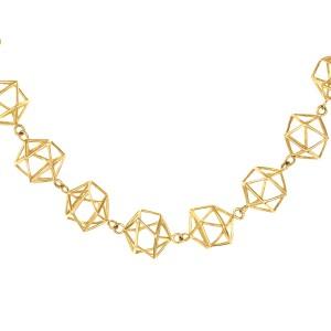 ブレスレット K18イエローゴールド 18金 K18 18k キューブ 四角 地金ブレスレット 人気 おすすめ レディース 女性