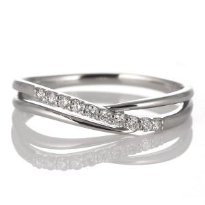 スイート エタニティ ダイヤモンド 10 個 ダイヤモンド リング ダイヤモンドリング 指輪 プラチナ 結婚 10周年記念
