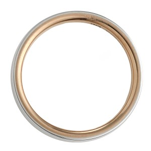 ニナリッチ 指輪 マリッジリング ペア プラチナゴールド ストレート レディース 刻印無料 大きいサイズ